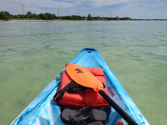 kayak long key