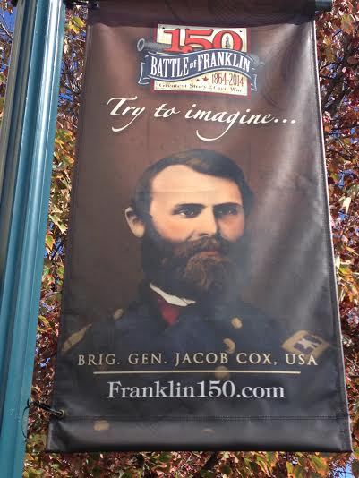Commemorating the 150th anniversary of the Battle of Franklin - go to Franklin150.com