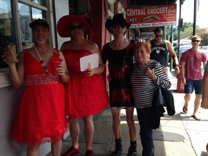 The Red Dress Run for charity
