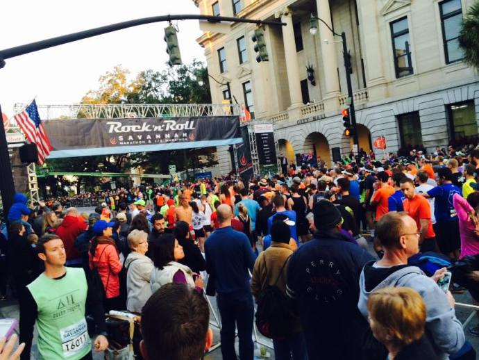 The Savannah Rock n Roll Marathon
