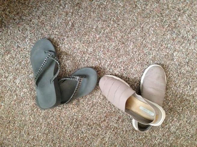 Flip flops and Go Walks