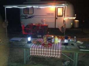 Delightful camping site